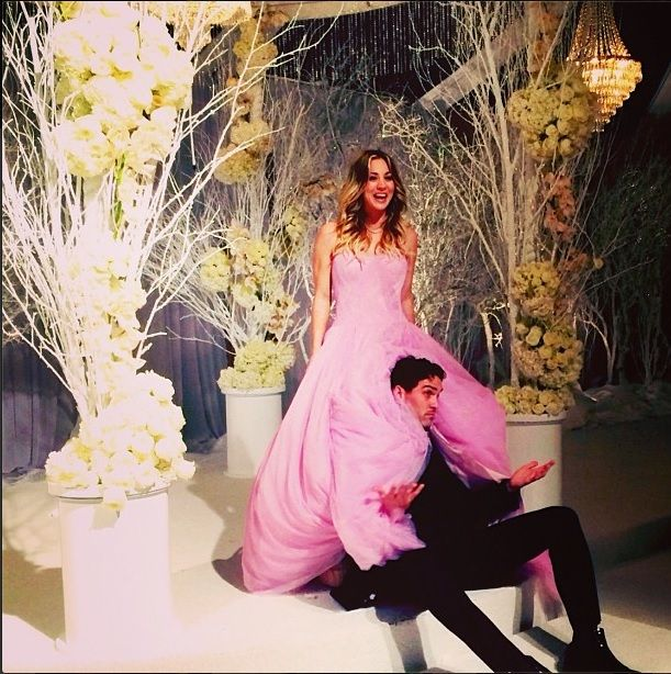 Avril Lavigne Wedding Gown: 15 Celeb Weddings Of 2013