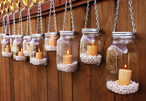 24 Mason Jar Ideas - North West Brides