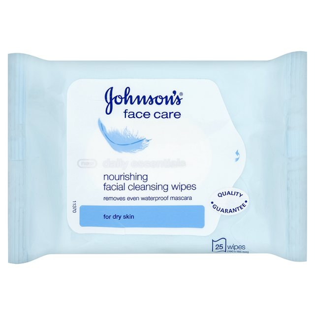 Johnsons Face Wipes
