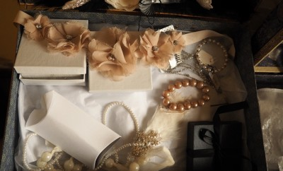 Pieces from Lavenderlily Bridal Boutique