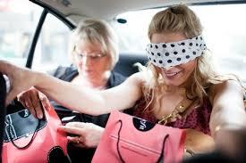 Bride blindfold