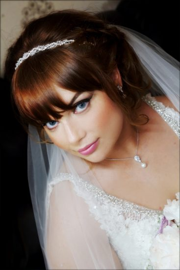 The new Mrs Tracy McLaughlin on her wedding day.