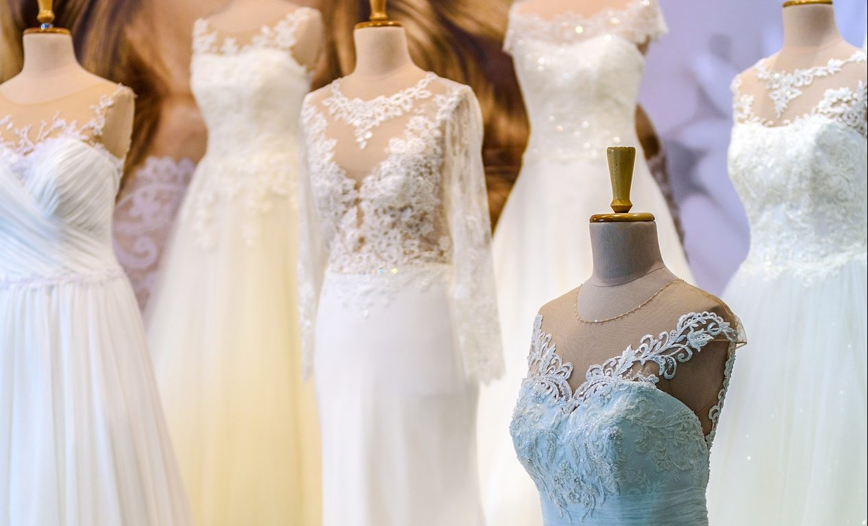 The real truth about wedding dress shopping north west for Wedding salon