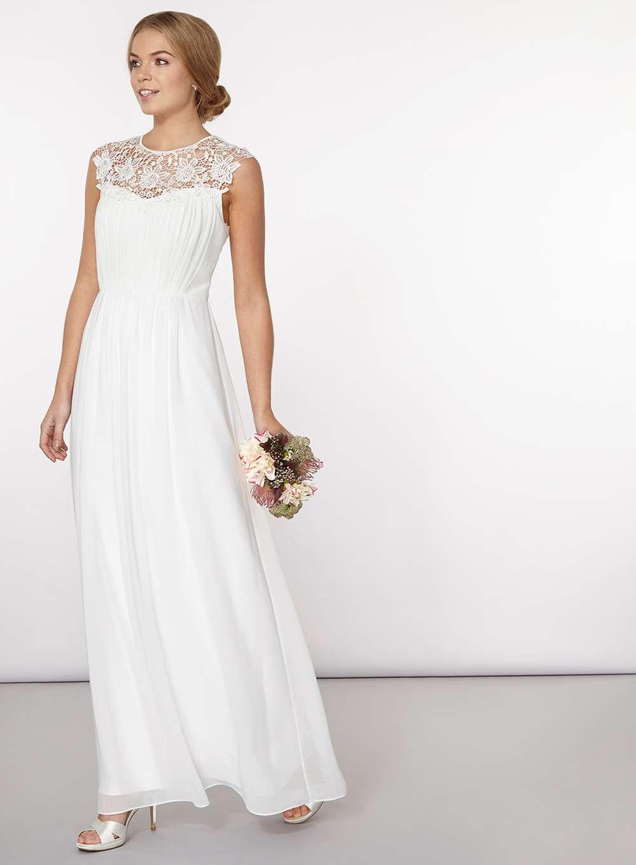 7 stunning high street wedding dresses for under 500 north west off white kathryn wedding dress ombrellifo Gallery