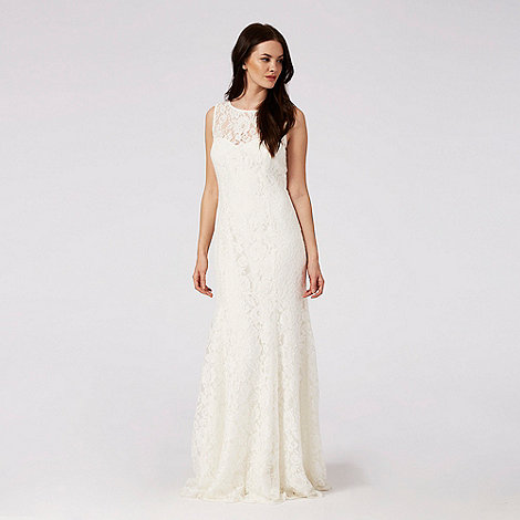 Deb.Debut Ivory 'Elaine' lace bridal dress