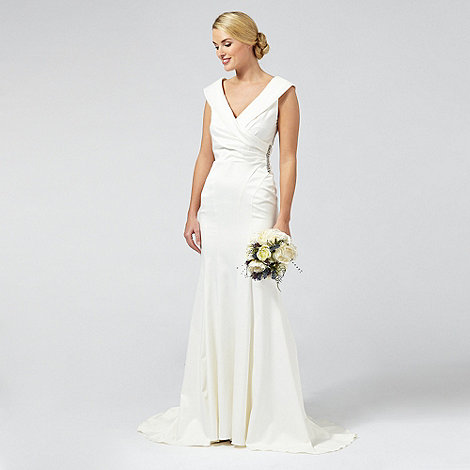 Deb.Debut Samantha Satin Bridal Dress