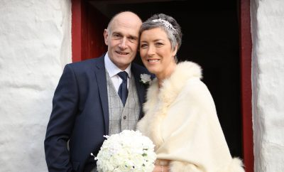 Kenny, son of Dorothy and the late Willie Humphreys, weds Alison, daughter of Rene and Patterson Stewart.