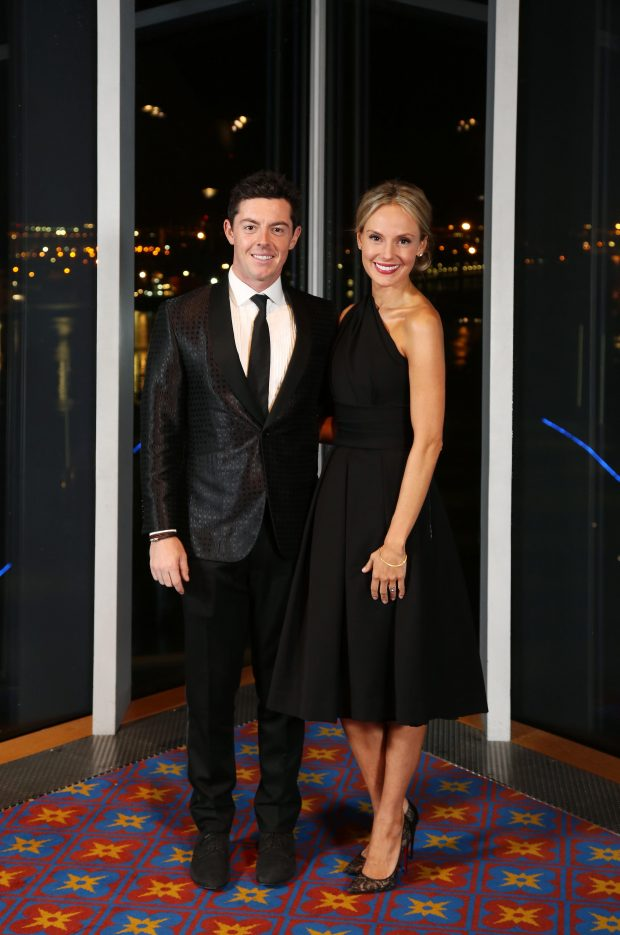 Rory McIlroy & Erica Stoll Wedding