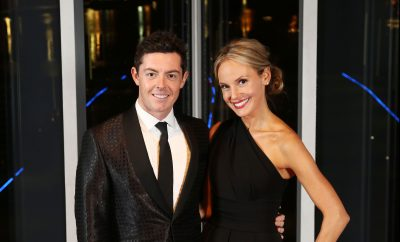 Rory McIlroy with and his fiancee Erica Stoll at The Paddy Wallace Fund for Autism Christmas Ball Picture by Darren Kidd - Press Eye.