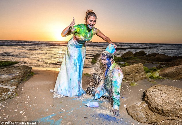 We Love This Paint Trash The Dress By White Studio Israel