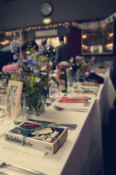 7 Ways to Have a Fabulous Book-Themed Wedding - North West