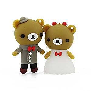 3251c06e40 A Pair Bear Couple Wedding USB Flash Drive Memory Stick – £15.98  www.amazon.co.uk/Aneew-Couple-Bridegroom-Memory-Wedding-Bride-Bear