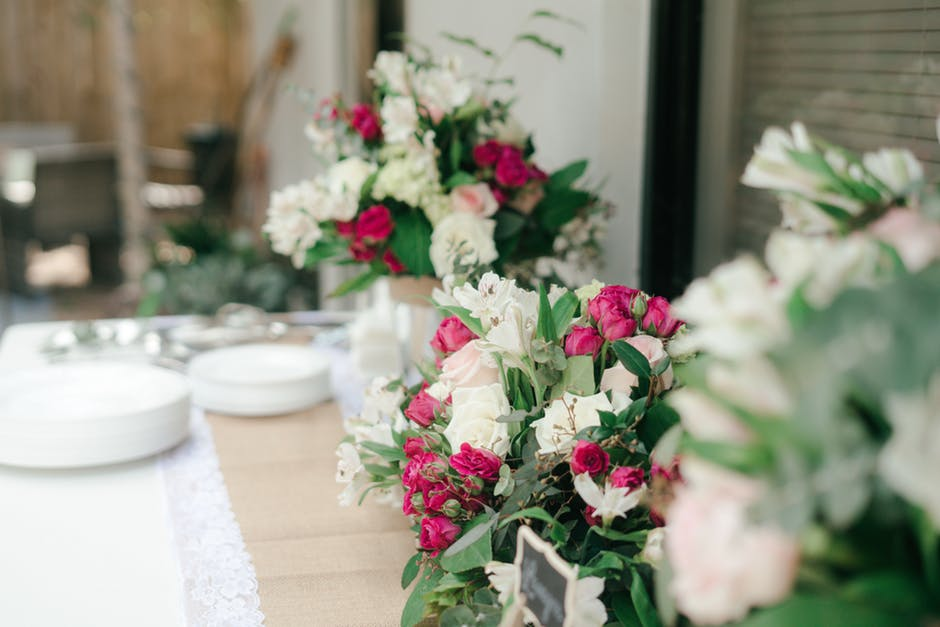 table centers