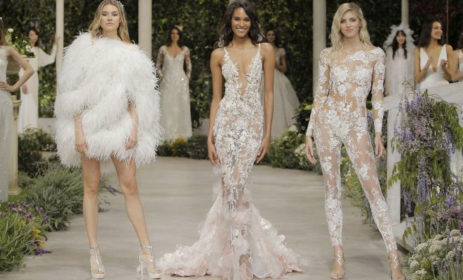5 Dress Trends That Have Been Walking The Aisle In 2019 North West Brides