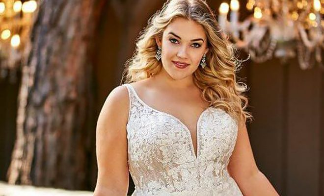Guest Blog Plus Size Dress Shopping Tips With Pearls Lace